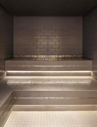 Sauna Interior - Aqua Spa - Atlantic City - FantaSea Resorts